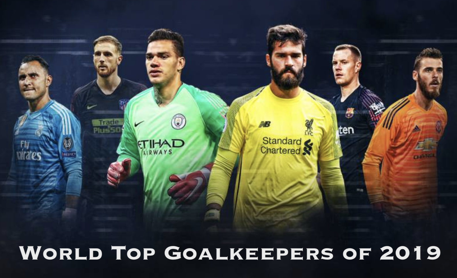 World Top Goalkeepers of 2019